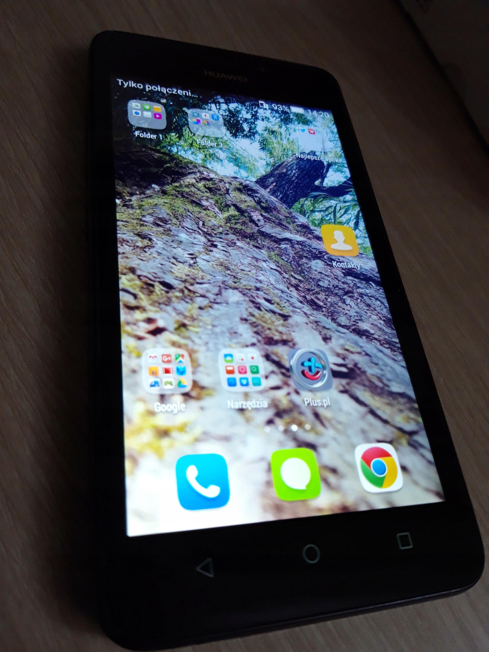 Huawei Y635 czarny. Stan idealny - jak nowy!