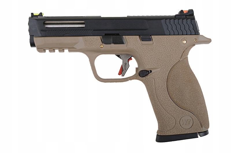 Pistolet ASG GBB BB Force Custom - T4 Stealth