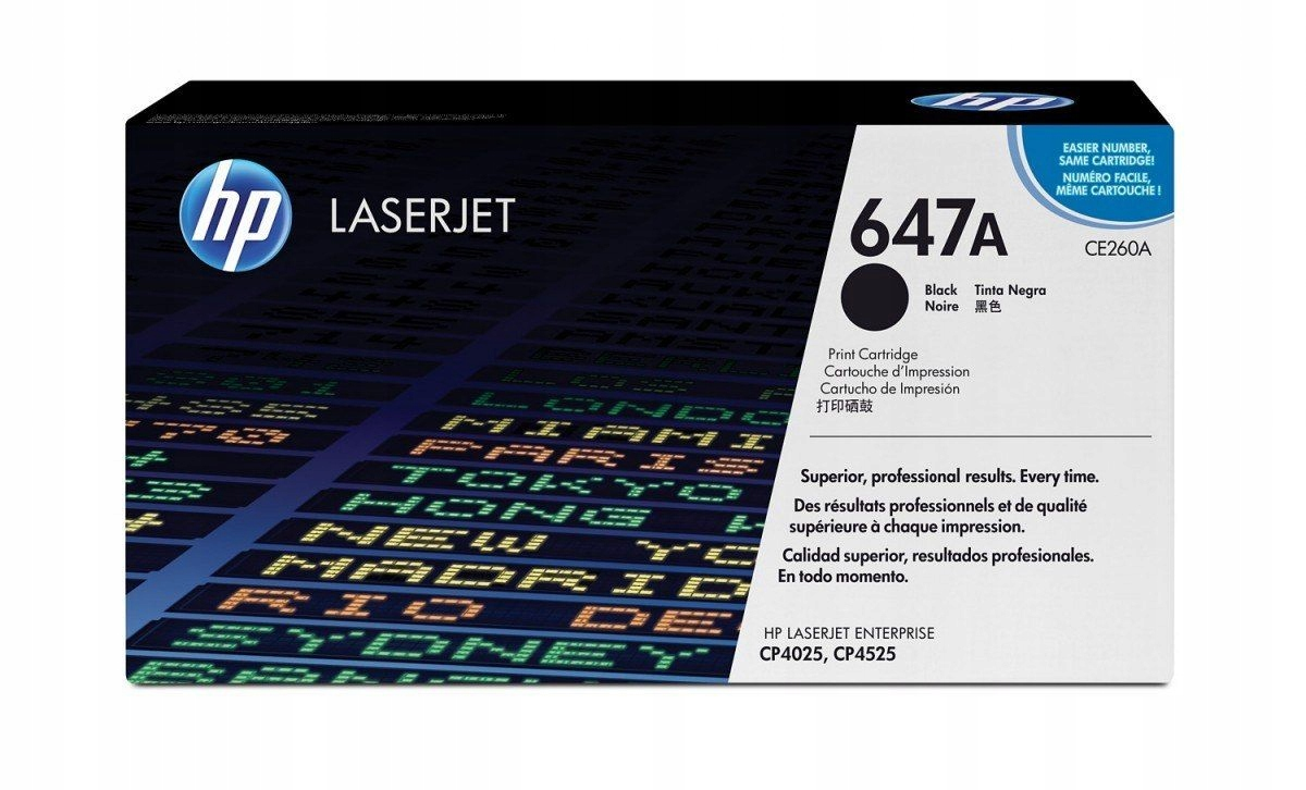 Toner CP4025/4525 8,5k Czarny CE260A