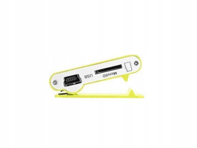 Odtwarzacz MP3 żółty