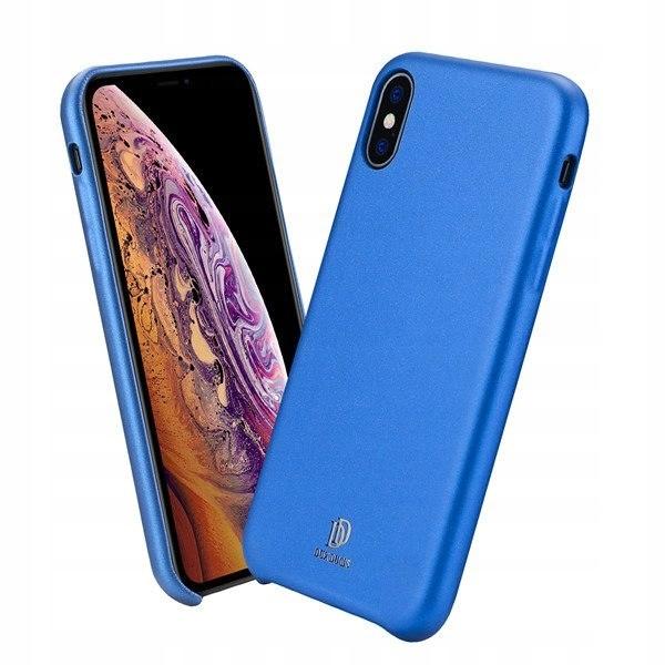 Hit!!Etui Dux Ducis Skin Lite IPHONE XR niebieskie