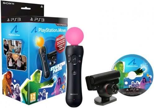 Playstation move kontroler z kamerą + gry
