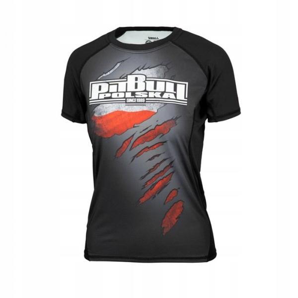 PIT BULL Rashguard damski Polska 19 koszulka r.M
