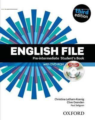 .English File 3Edition Pre-Intermediate LO. Podręc