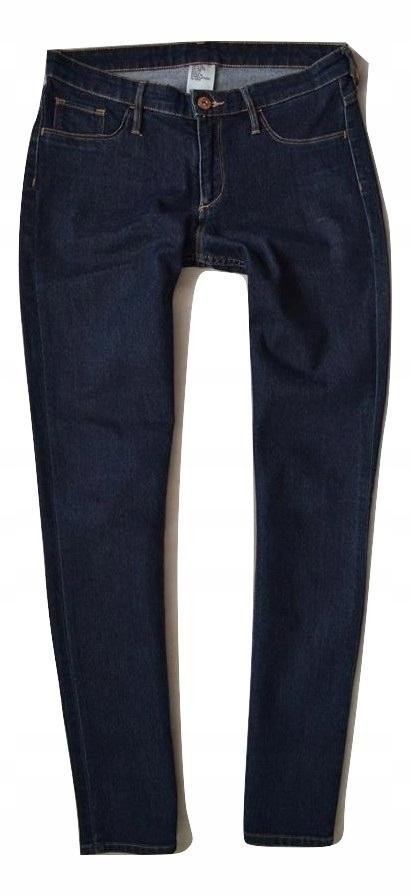 H&M Spodnie dżinsowe Jeansy Rurki 152cm.12/13