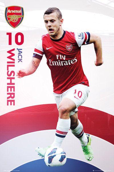 Arsenal Jack Wilshere - plakat