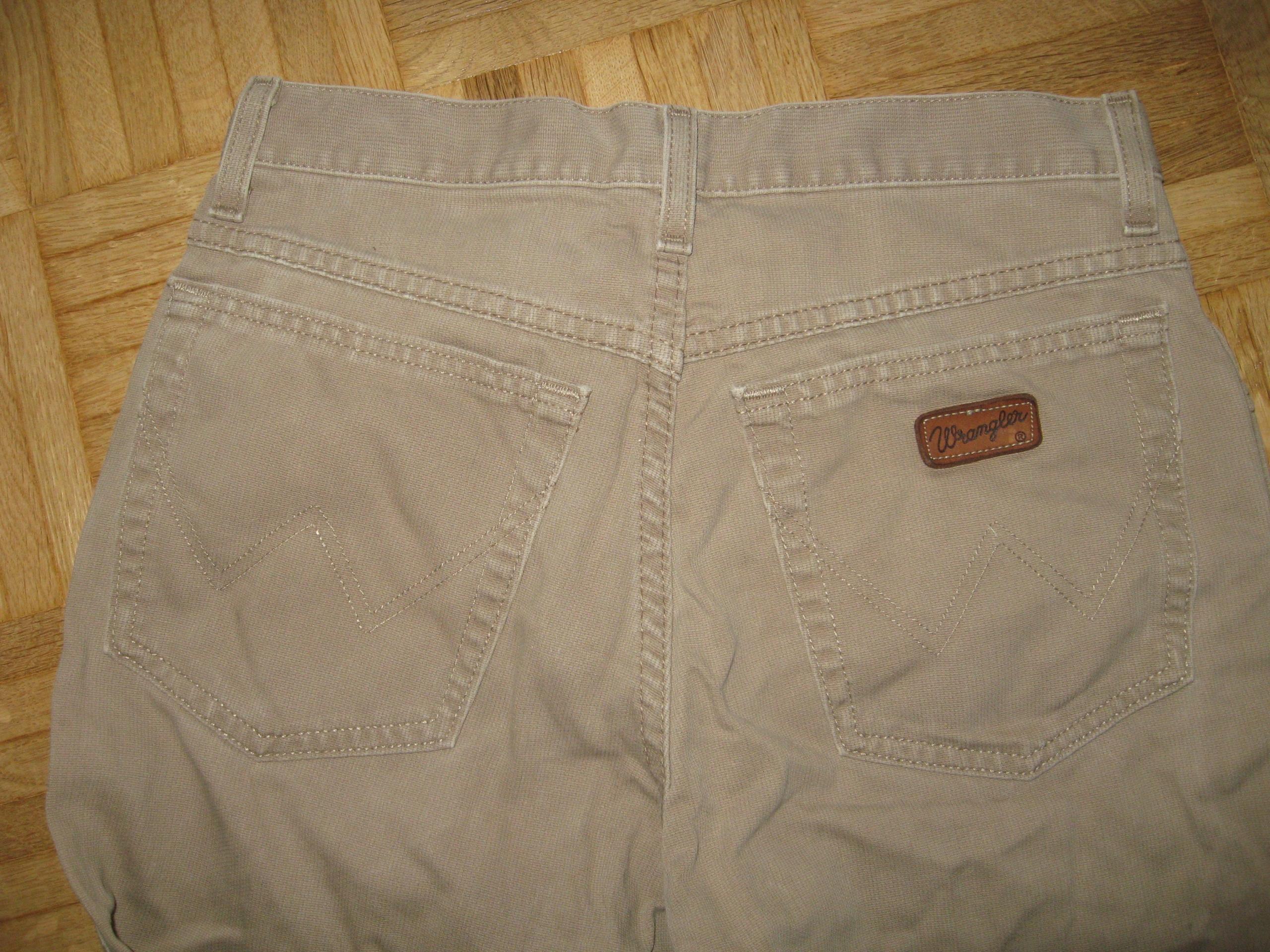 WRANGLER spodnie 30 -30 ___pas 72 cm