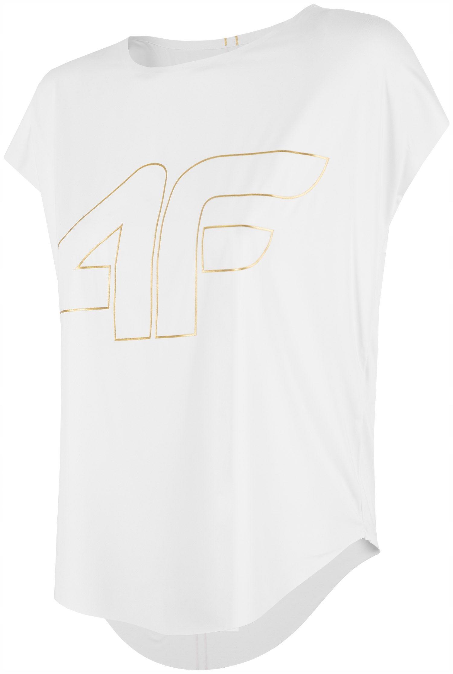 4F Koszulka treningowa damska TSDF005 S
