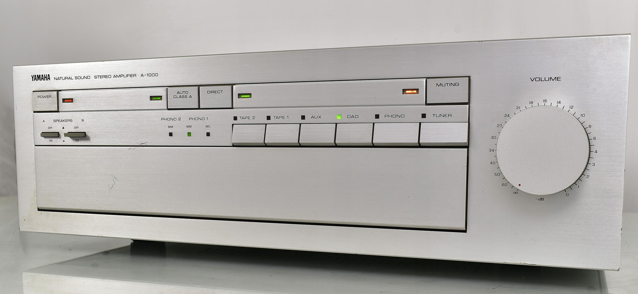 Yamaha A-1000 Audiofilski wzmacniacz stereo .