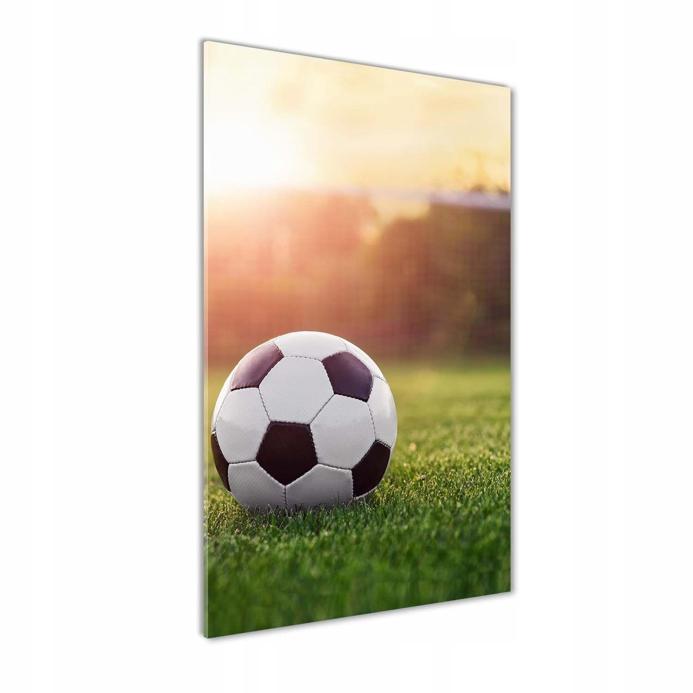 Foto obraz szkło hartowane Piłka nożna 70x140 cm