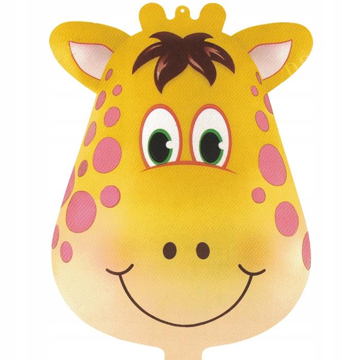Balon Foliowy Żyrafa Safari Zwierzaki Jungle Party