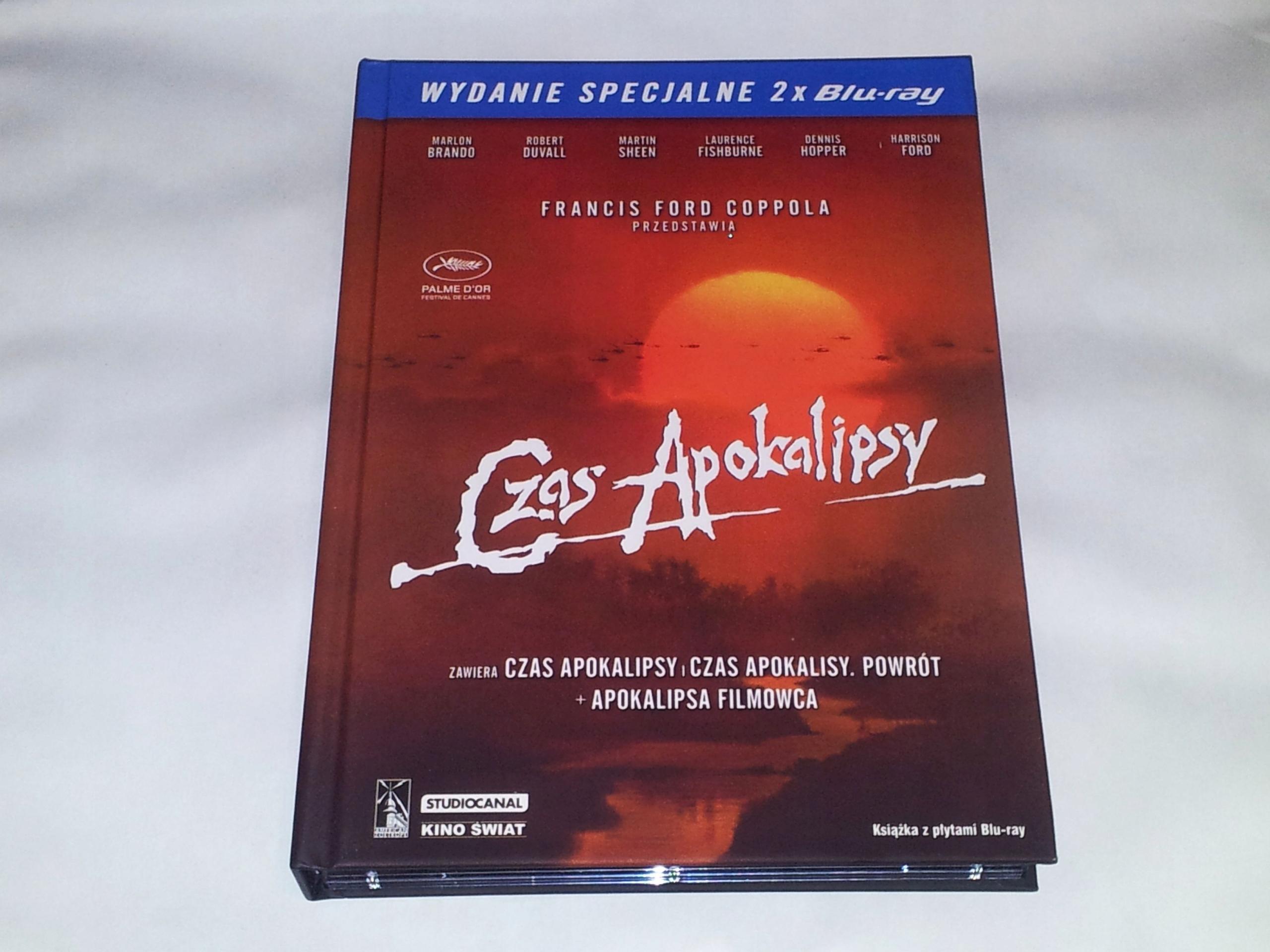 Czas Apokalipsy - 2xBlu-ray - PL - Lektor - UNIKAT