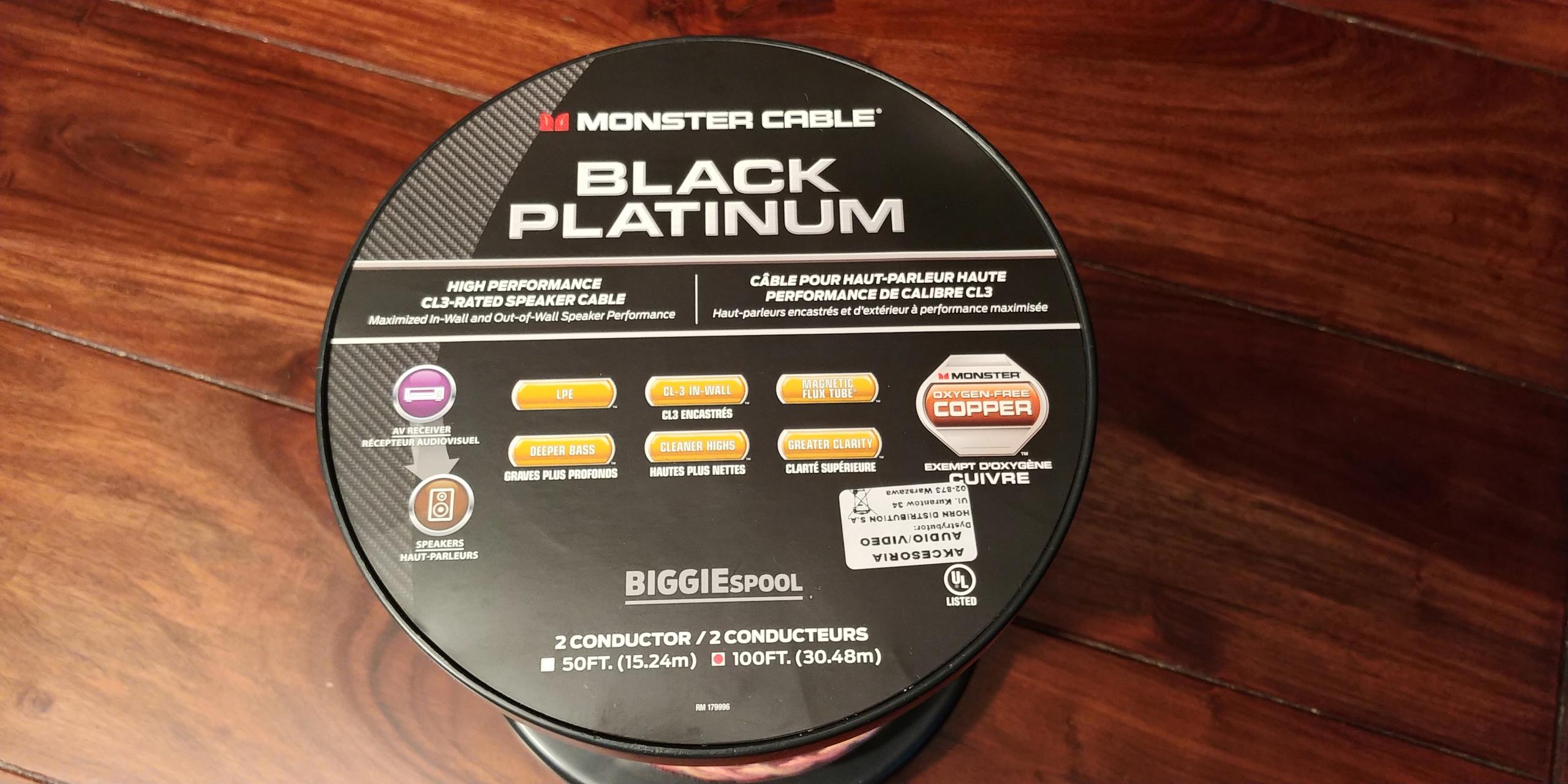 MONSTER BLACK PLATINUM XP-CL 1mb