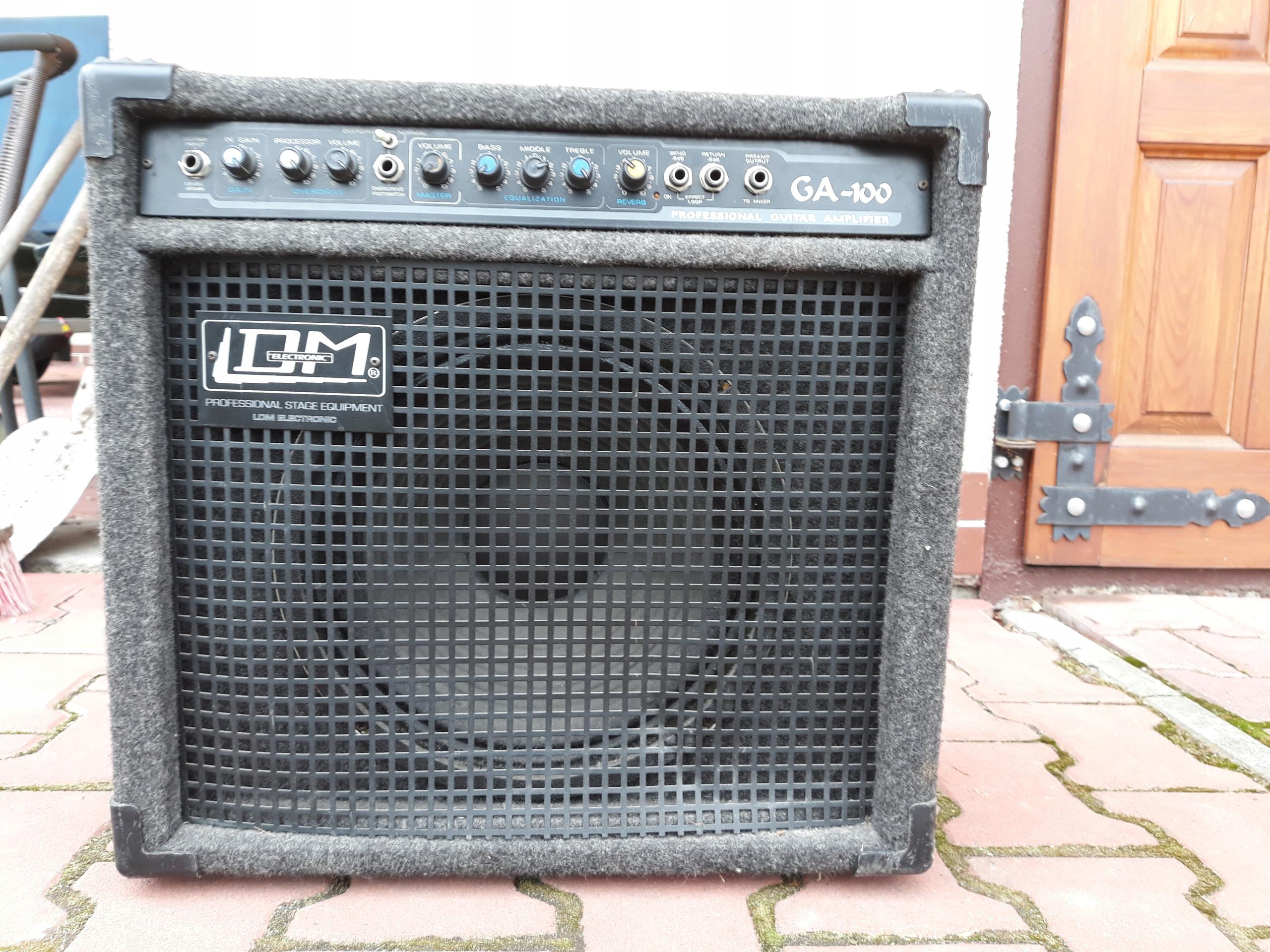 Piecyk gitarowy firmowy LDM model GA 100