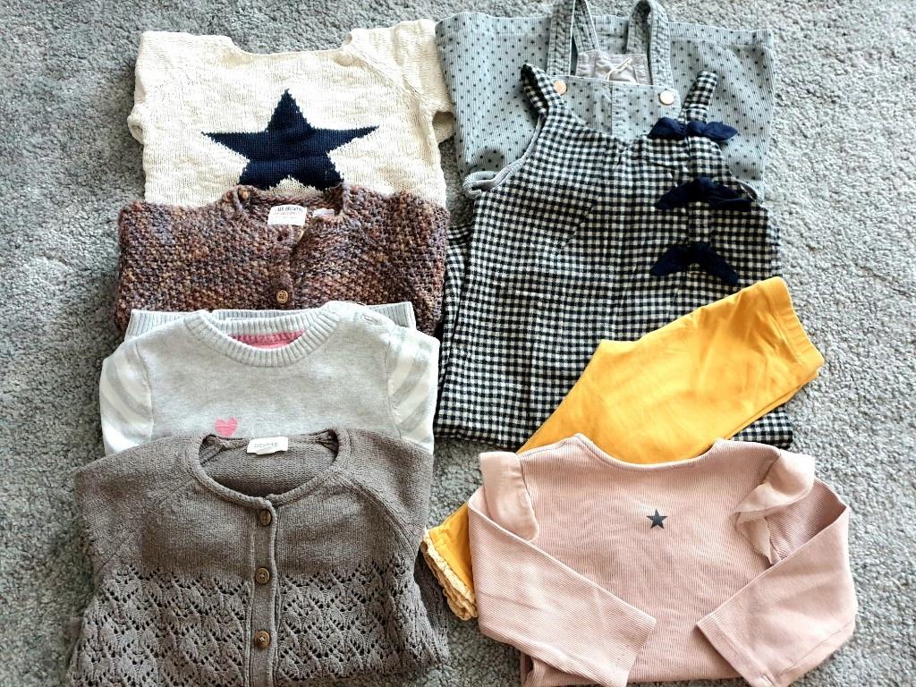 zestaw ubranek dla dziewczynki Newbie Zara Next