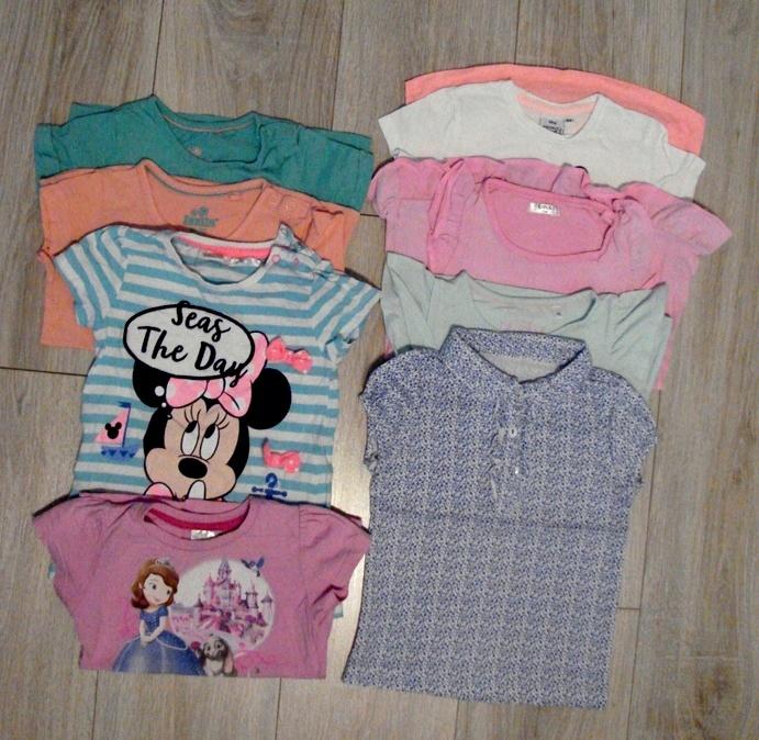 Bluzki z krótkim rękawem Cool Club 5-10-15 92-98
