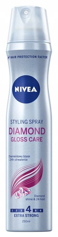Nivea Hair Care Styling Lakier do włosów Diamond G