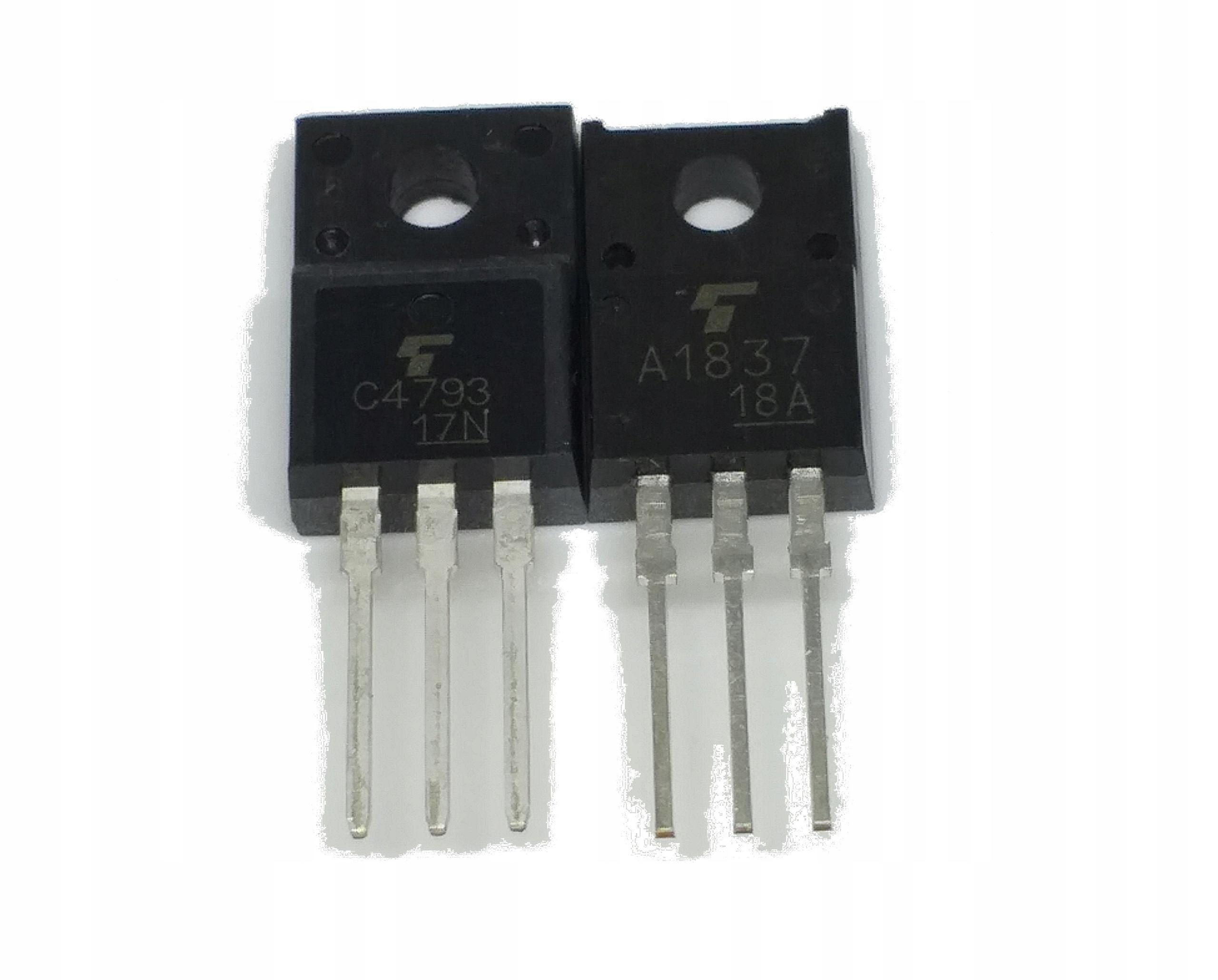 Tranzystor 2SC4793 + 2SA1837 komplet