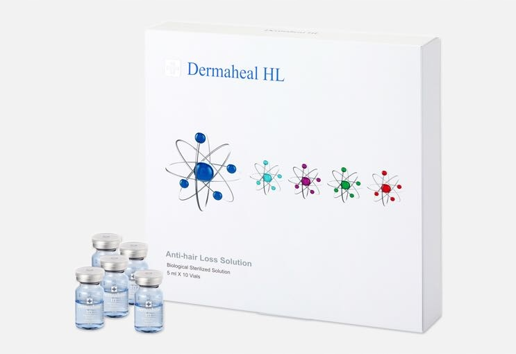 DERMAHEAL HL mezoterapia skory glowy - 5 ampulek