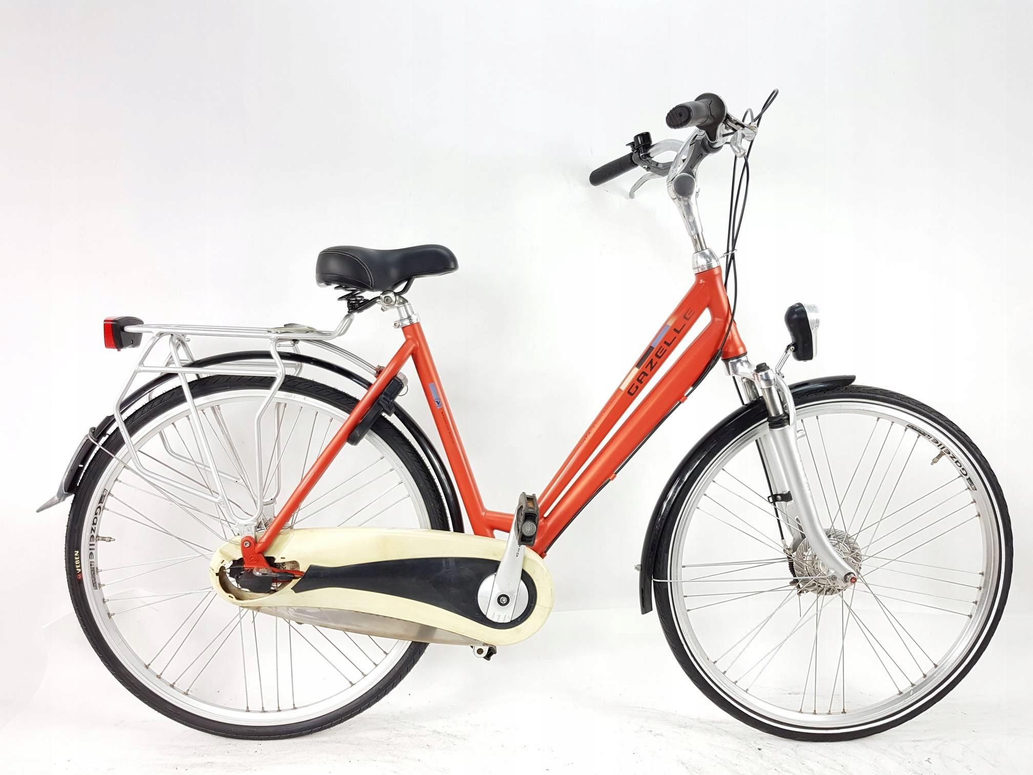 Gazelle Punta 28'' rower holenderski, Sram 7