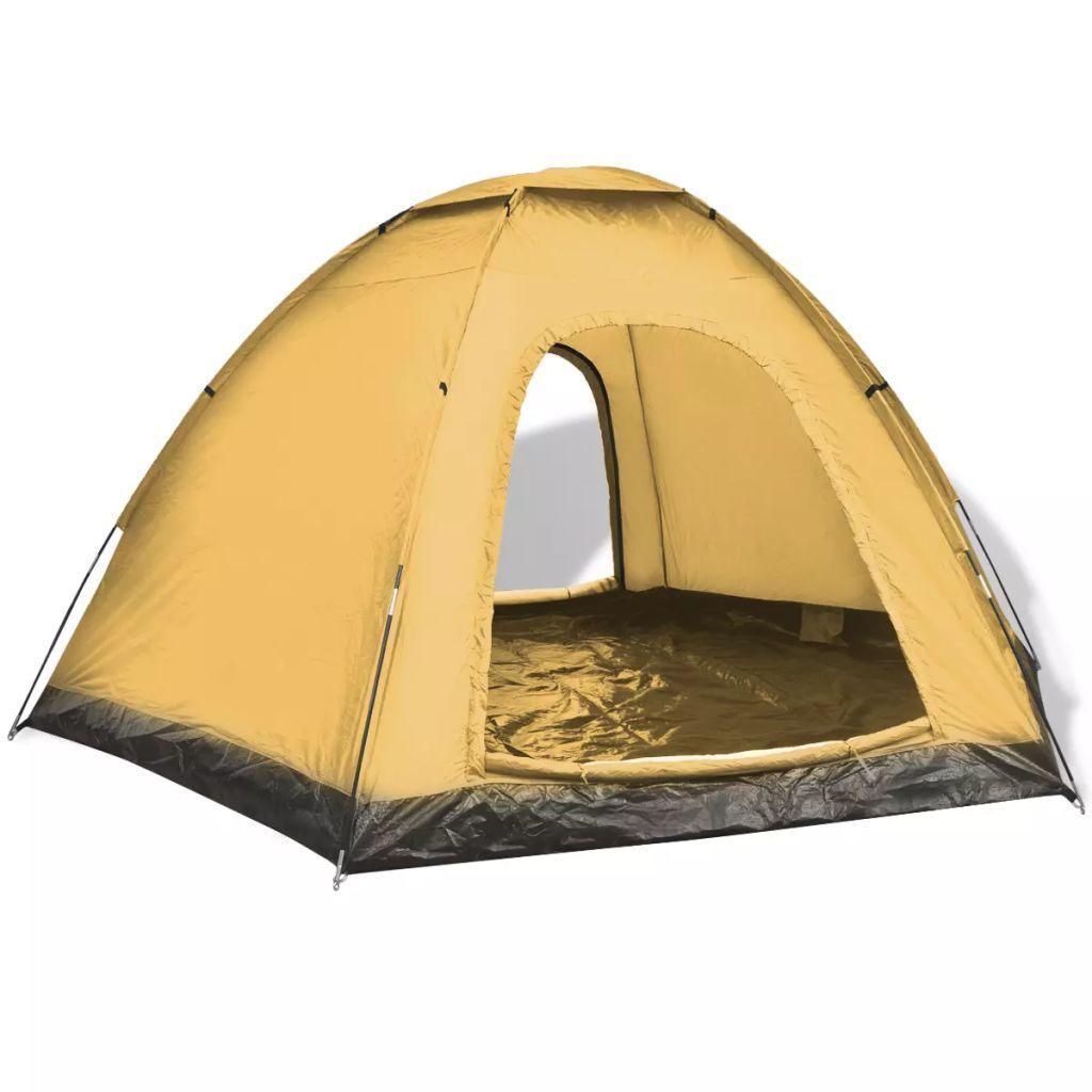 Namiot 6-osobowy, żółty GXP-679879