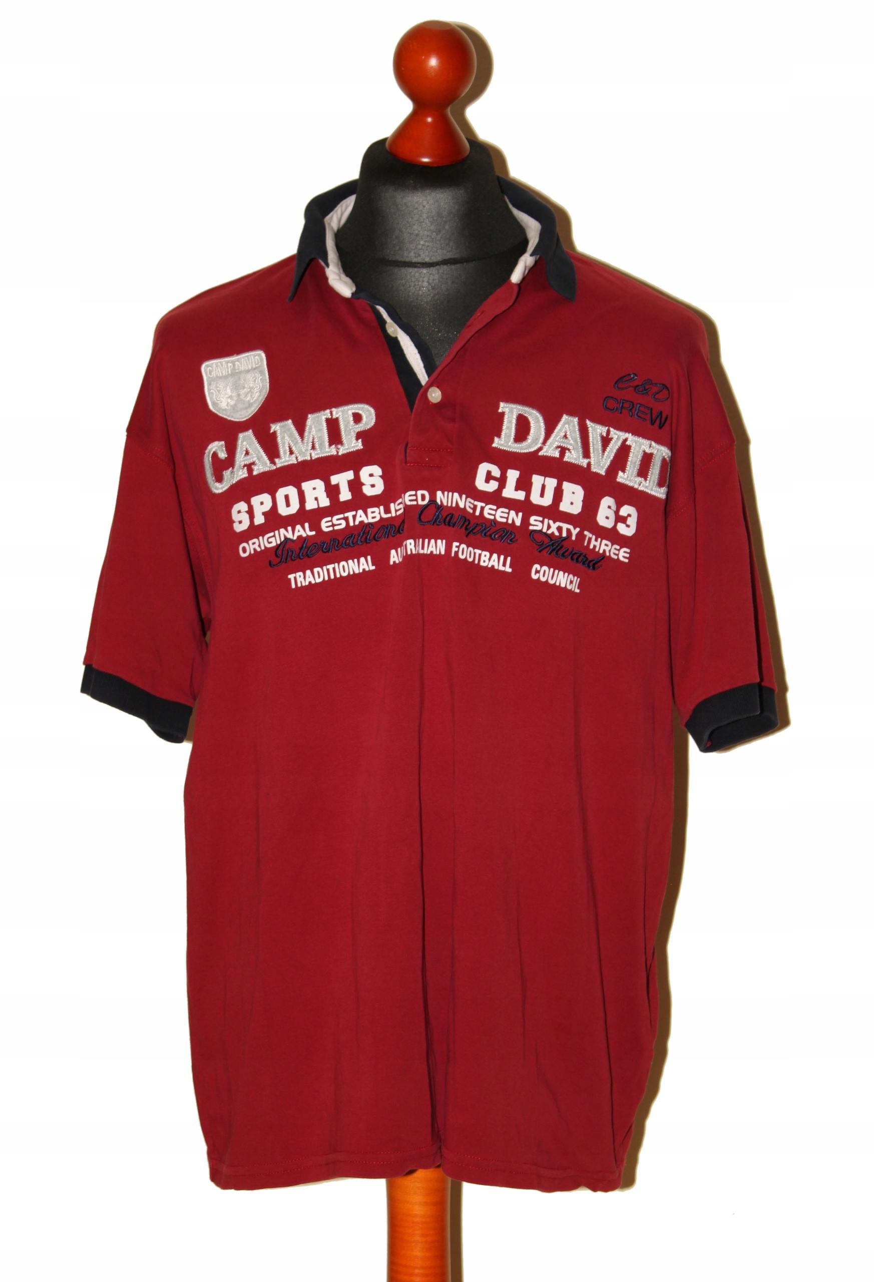 Camp David polo męskie rozm. L/XL