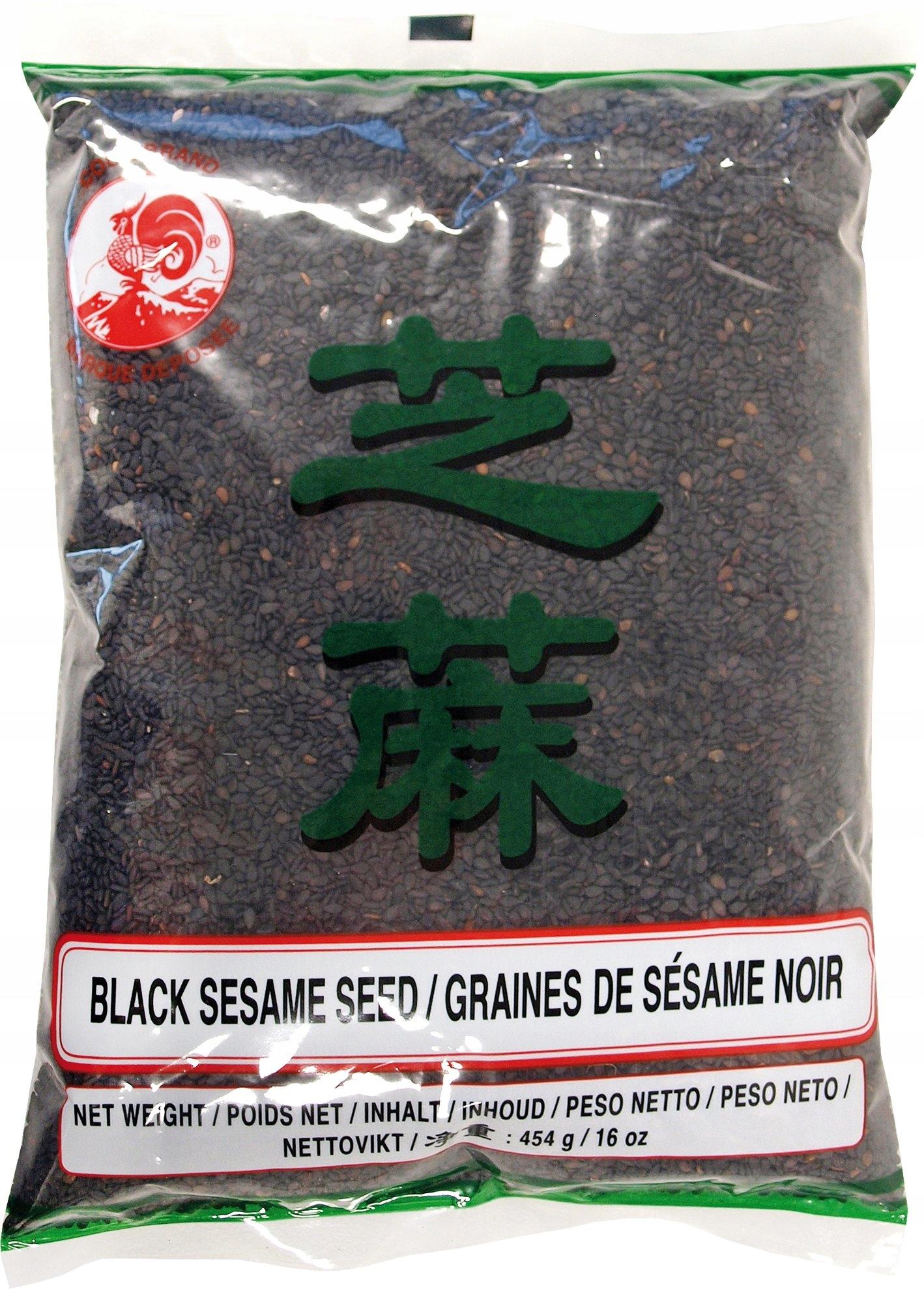 Sezam czarny do sushi i nie tylko 400g - SUSHI SAM