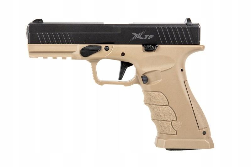 Pistolet GBB XTP.D - half tan (APS-02-025479)