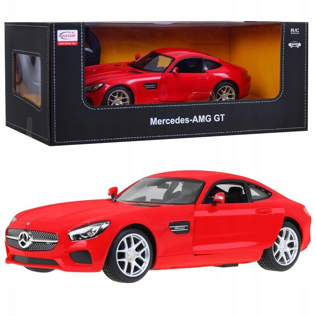 1:14 Mercedes-AMG GT na licencji Rastar czerwony