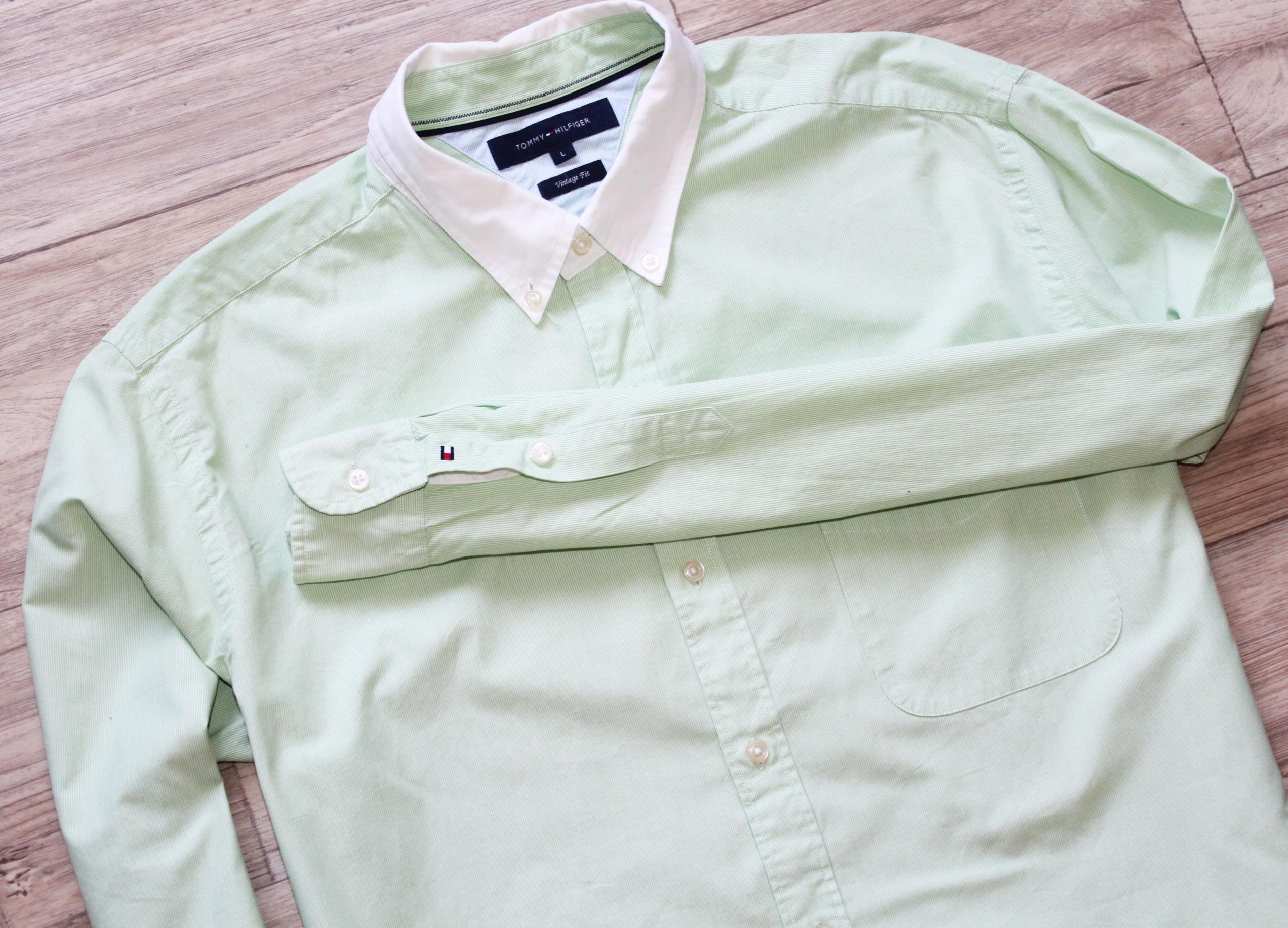 Koszula Tommy Hilfiger ideał L logowana męska
