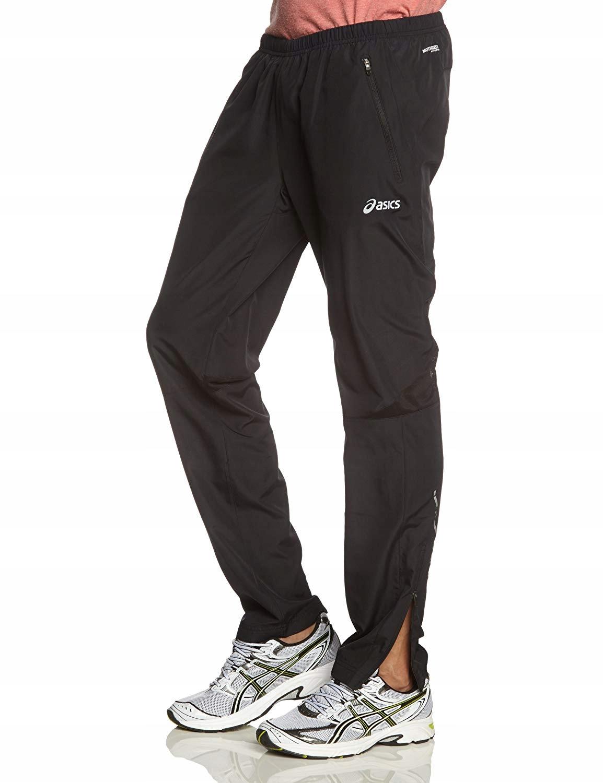 C8409 ASICS spodnie MĘSKIE DRESOWE biegowe R.L
