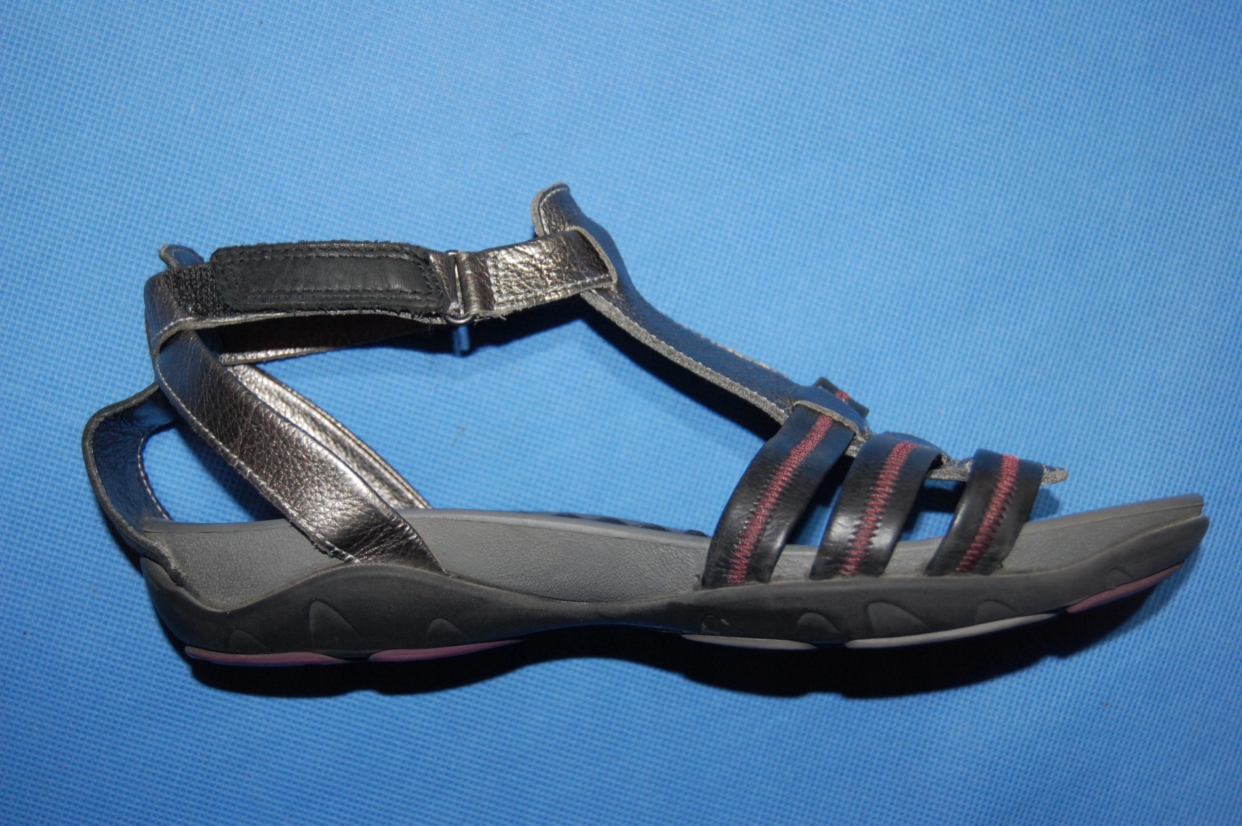 Sandały skórzane Ecco rozmiar 39