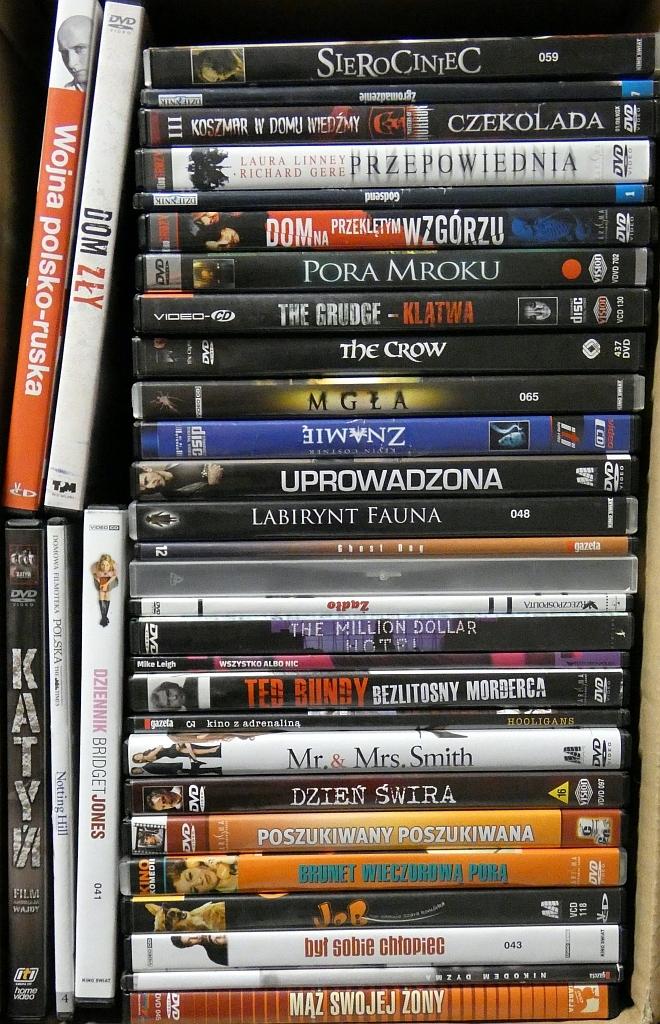 Zestaw 33 Dobrych filmów - horror, komedia, sensac