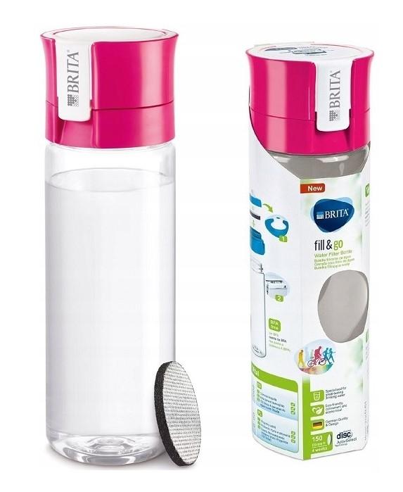 Butelka filtrująca BRITA FILL&GO Różowa