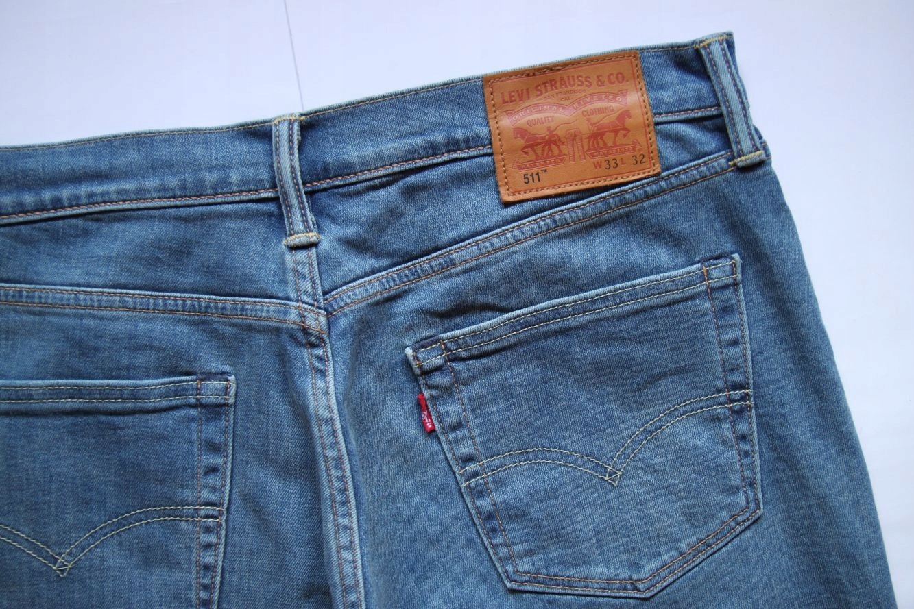 LEVIS 511__W34 L32 REGULAR SLIM BLUE JEANS__34/32