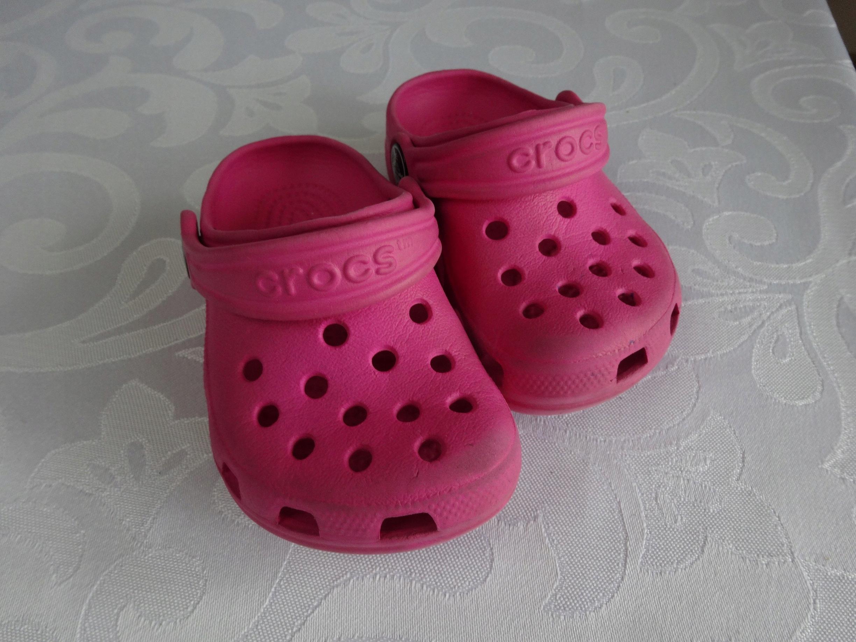 Crocs - dla dziewczynki roz. 20