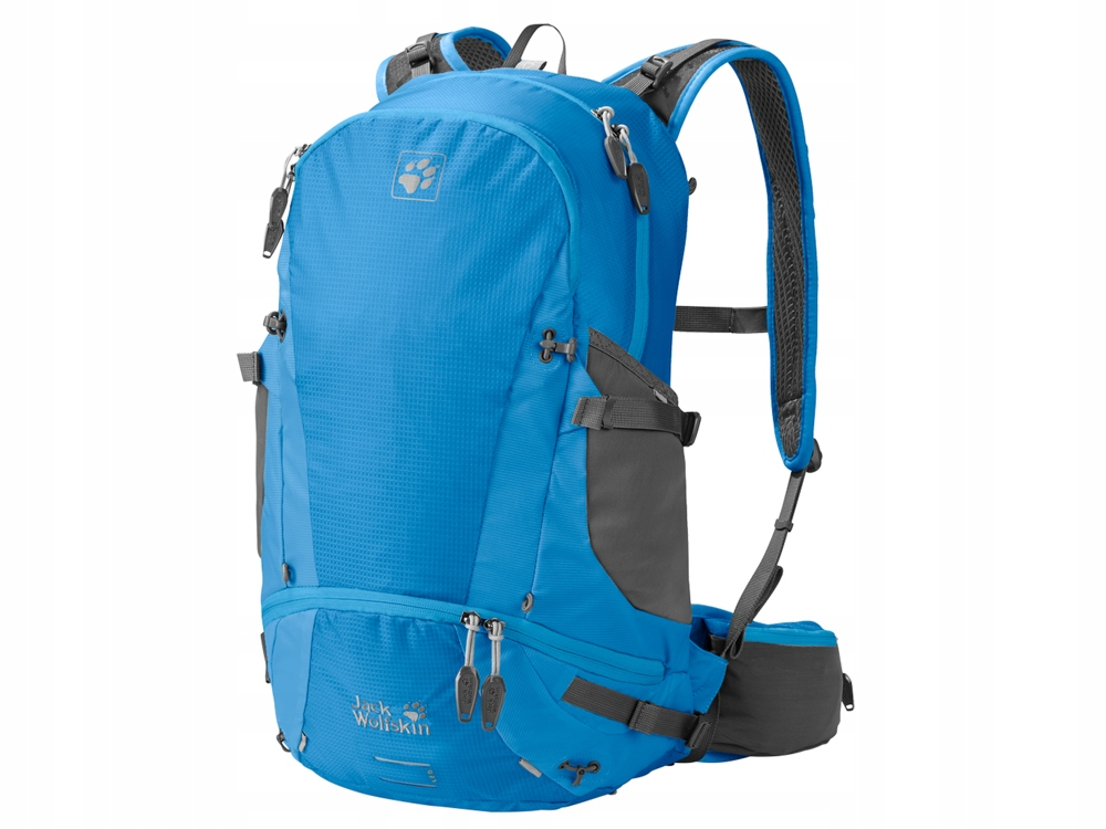 Niebieski Plecak Jack Wolfskin Torba Sportowa