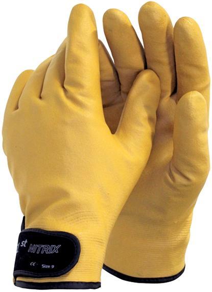 Super Rękawice WODOODPORNE OCIEPLANE Nitrix r: 9
