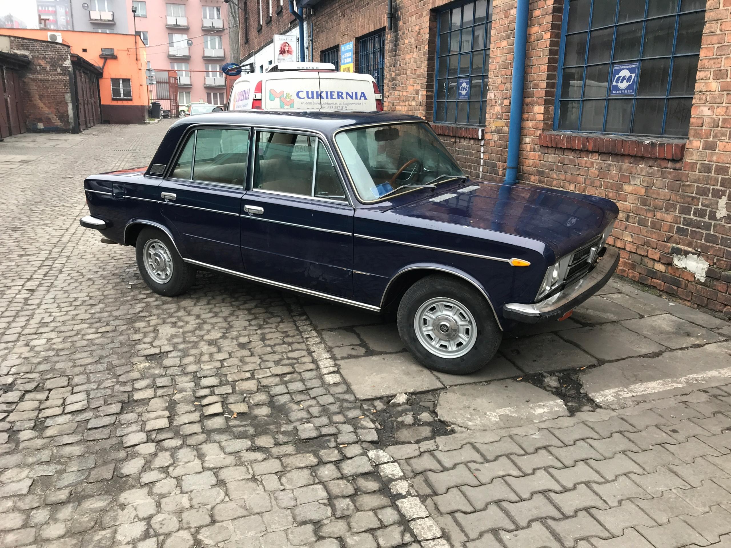 FIAT 125 SPECIAL 1972 zabytkowy