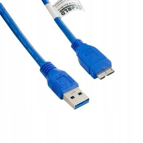 4world Kabel USB 3.0 AF- Micro BM 4.0m|niebieski