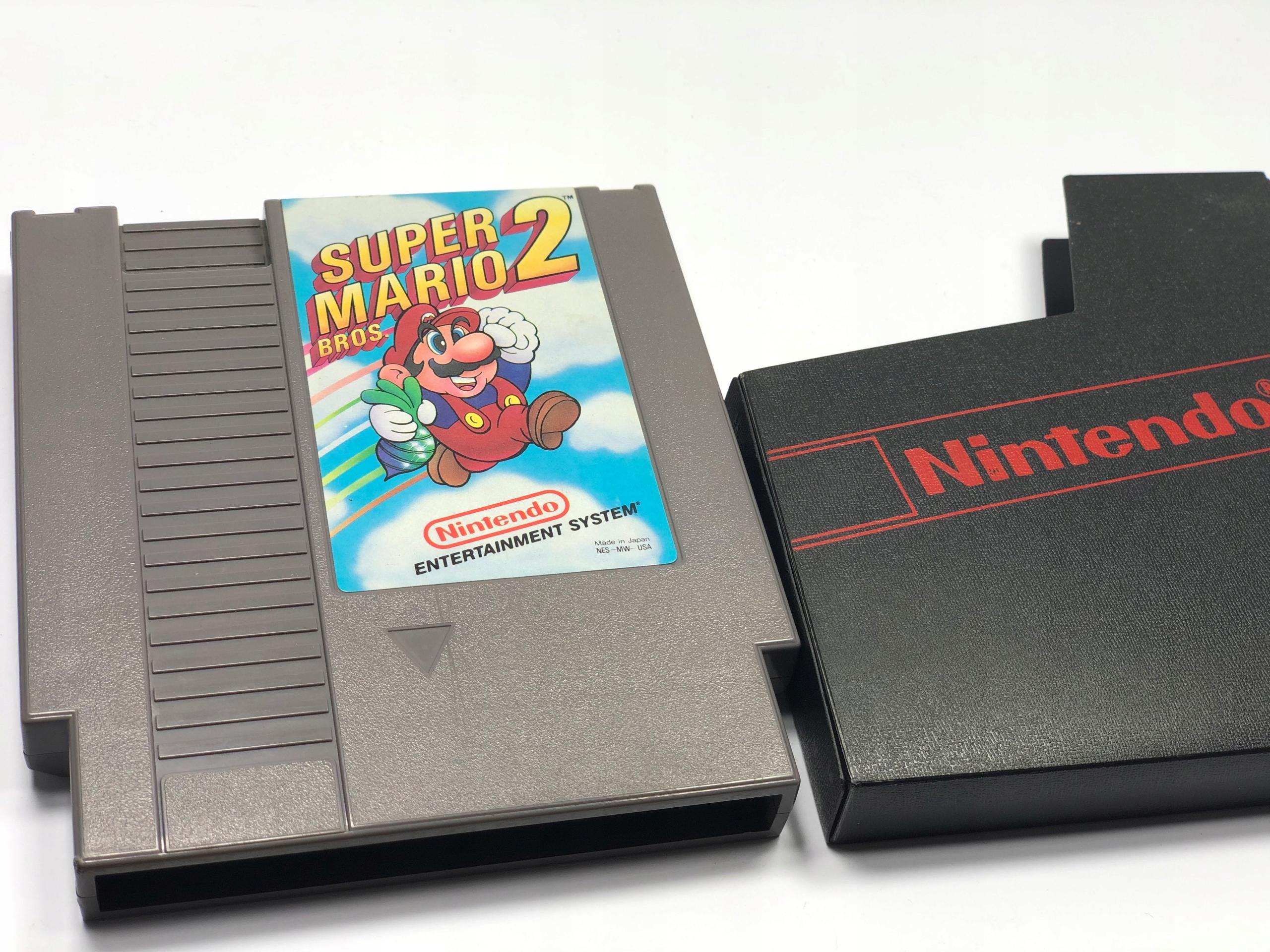 Super Mario Bros 2 ! NES - 7795658007 - oficjalne archiwum allegro