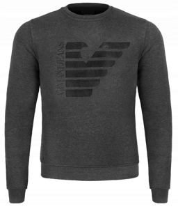 ARMANI JEANS klasyczna bluza czarna EA69B r. 3XL