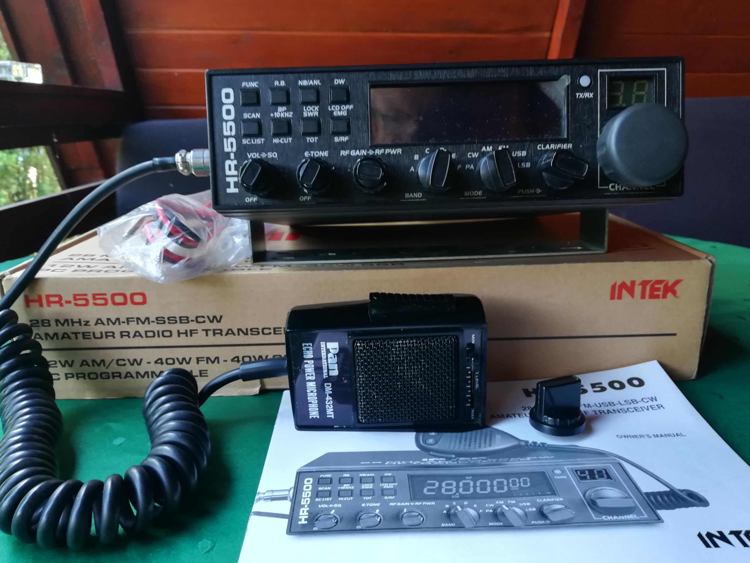 radio CB Intek HR-5500
