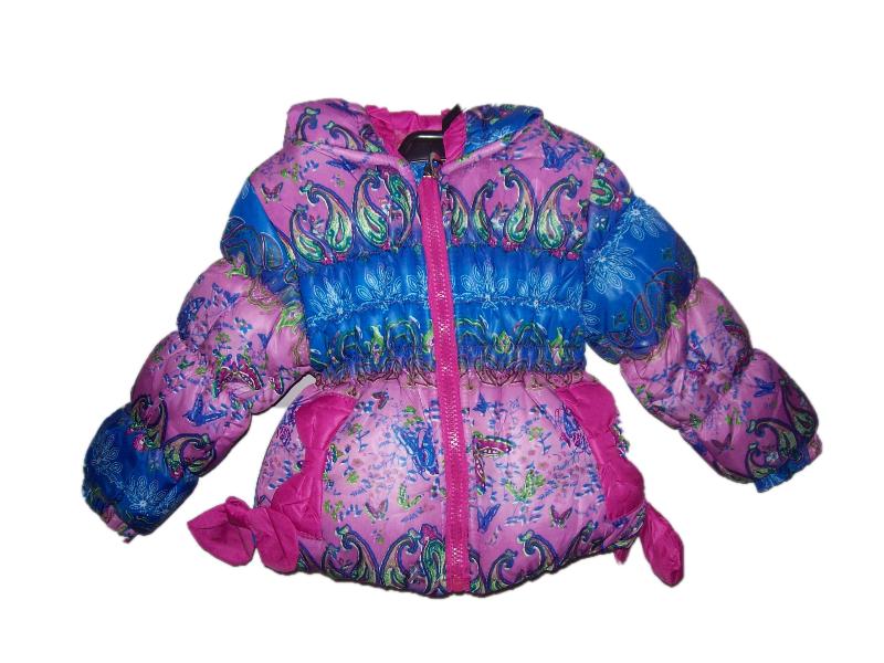 kurtka dziecięca dla dziewczynki zimowa 36 m-cy