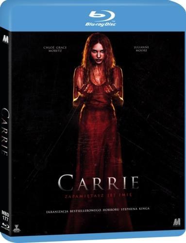 CARRIE - DWIE WERSJE Blu-ray lektor STAN IDEALNY