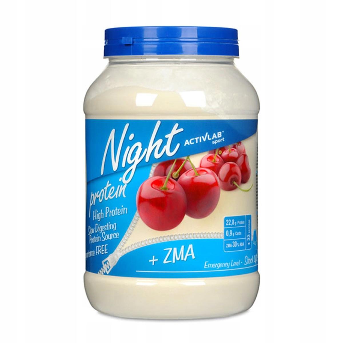 Activlab Night Protein ZMA 1000g / nut Activlab
