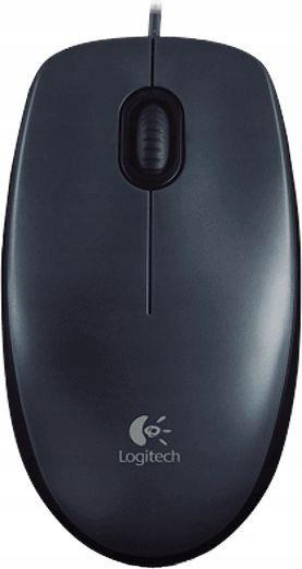 LOGITECH M100 Grey Mouse 910-005003