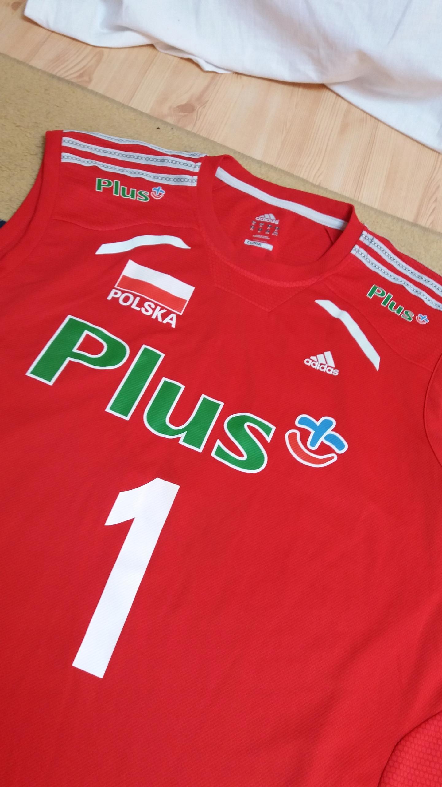 Siatkówka Polska reprezentacja Adidas L XL piękna