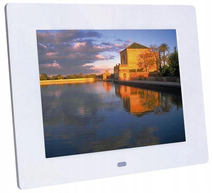 BRAUN PHOTOTECHNIK Ramka cyfrowa LED DF 82 biała