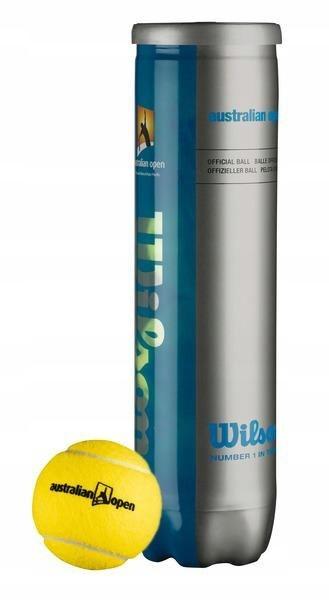 Piłka tenisowa Wilson Australian Open 4 żółty